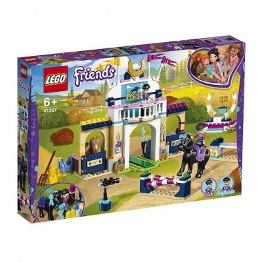 LEGO樂高 LEGO 斯蒂芬妮騎馬跳欄賽