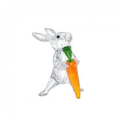 Swarovski施華洛世奇 兔子與紅蘿蔔