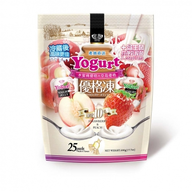 家會香家會香 水蜜桃+草莓果汁凍